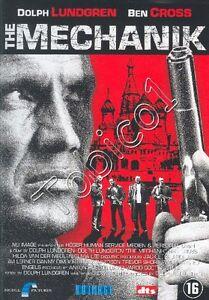 THE-MECHANIK-DOLPH-LUNDGREN-BEN-CROSS-DVD-NIEUW