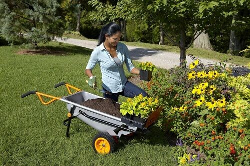 FREE-Water-Hauler-with-WG050-WORX-AeroCart-8-in-1-Multi-Function-WheelBarrow