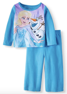 Frozen Elsa Olaf Girls Pajamas 2 Piece Flannel Nip Size 18 Mo 2 T Blue Disney Baby & Toddler Clothing Clothing, Shoes & Accessories