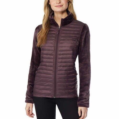 XL NEW 32 Degrees Ladies/' Mixed Media Down Jacket Size XS