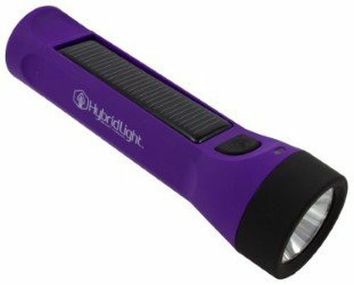 Hybridlight Journey Solar Hybrid 160 Lumens Waterproof Rechargeable Flashlight