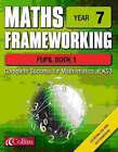 Maths Frameworking: Year 7: Pupil Book 1 by Brian Speed, Kevin Evans, Keith Gordon (Spiral bound, 2002)