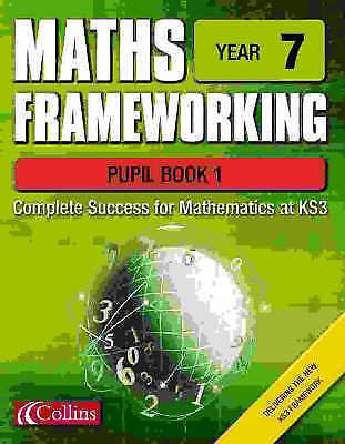 Maths Frameworking – Year 7 Pupil Book 1, Evans, Kevin,Speed, Brian,Gordon, Keit