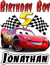 Item 3 Disney Cars Birthday Shirt