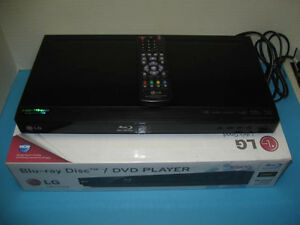 lg blu ray disc dvd player bd610 with remote ebay rh ebay com LG BD300 Manual LG Blu-ray Player Error
