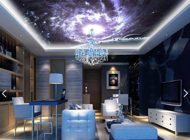 3D Shining Star Planet 1 WallPaper Murals Wall Print Decal Deco AJ WALLPAPER GB