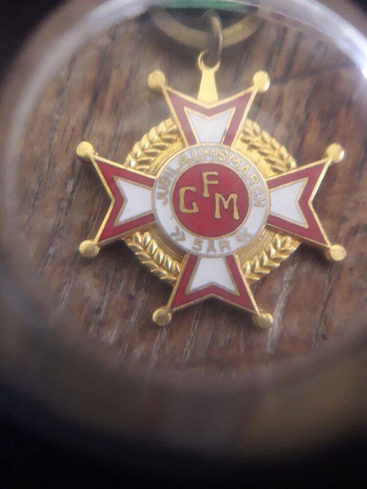 Emblemer, Medalje
