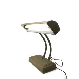 Vintage-Mid-Century-Modern-Machine-Age-Desk-Lamp-Light-Industrial-Art-Deco