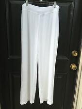 New Last Pair Chico's Travelers Winter Drift White Wide Leg Pants 3 XL 16 18 NWT