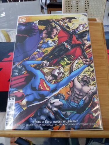 Connecting VariantDC Comics Legion of Super-Heroes of 2 Millennium #1