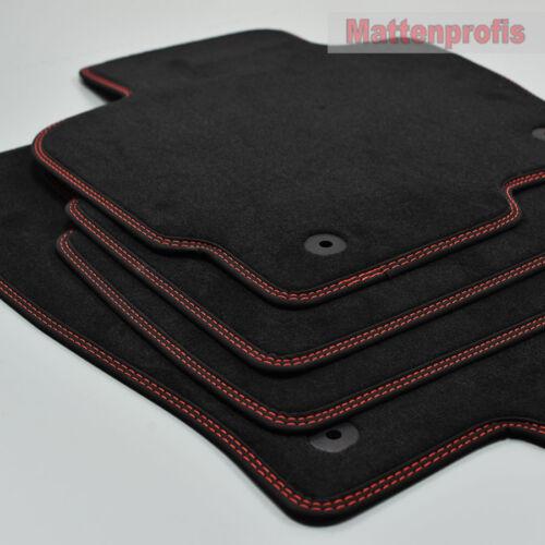 2012-2017 ro-ro MP velluto tappetini cucitura doppia per Mazda cx-5 tipo feature ab Bj