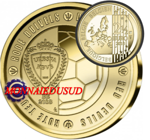 2-50-Euro-Commemorative-Belgique-2018-Diables-Rouges-Coupe-du-Monde