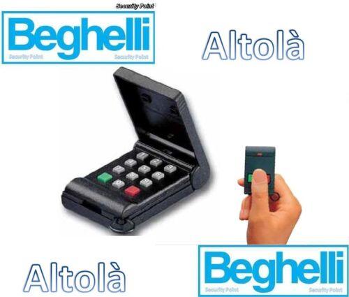 BEGHELLI ALTOLà TELECOMANDO ANTIFURTO ALLARME ALTOLA 922-TXT 305 MHZ ULTIMI 2 !!