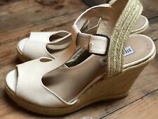 b108df8011b item 2 Steve Madden P-Wade Espadrille Wedge Sandals Womens Size 8 Nude  Blush Open Toe -Steve Madden P-Wade Espadrille Wedge Sandals Womens Size 8  Nude Blush ...