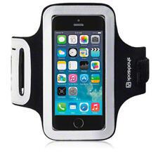 For iPhone 5/5S/SE Black Shocksock Reflective Sports Jogging Gym Armband Case