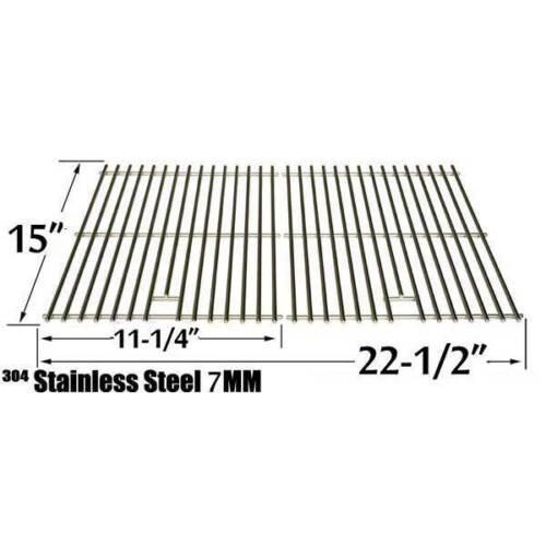 SS cooking grid for Kenmore 141.15220,17228,616.15902,Weber 16930,2240000 models