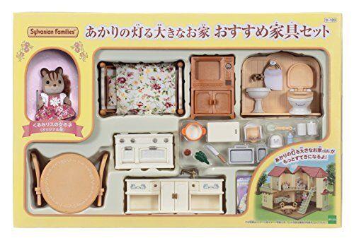Figura Sylvanian Families Akari's Big House recomendado Set Se-189 sb