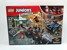 10760 LEGO Juniors Underminer Bank Heist Incredibles 2 149 Pieces Age 4 2018!