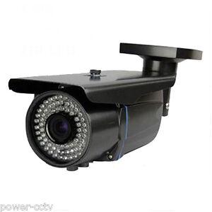 HD 1800TVL 72pcs IR LEDs 2.8-12mm Varifocal Zoom Outdoor IR CUT Security Camera