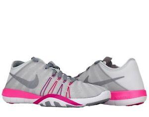 Tamaño Nike Free Tr 6 Platino Rosa para Mujer Entrenamiento