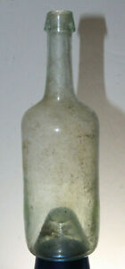 PONTILED-APOTHECARY-MEDICINE-BOTTLE-7-1-2-034-TALL