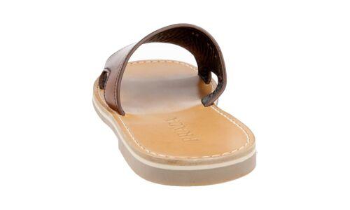 2x2947 Marron Prada Nouveaux Luxueux 40 41 6 5 Sandale 5 PAE4HxnP