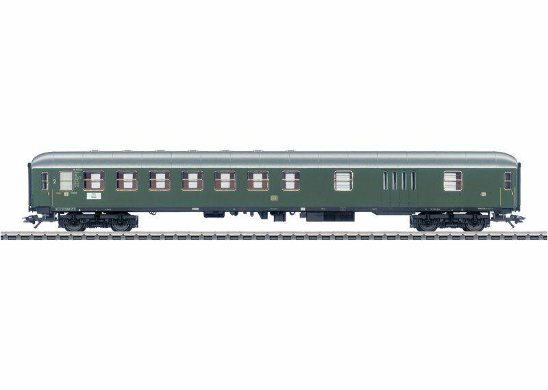 marklin 43950 vagoni treno rapido metà autorello borsaagli della DB in h0 nuovo di fabbrica
