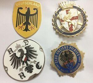 Vehicle Parts & Accessories Badges & Mascots Automobile Club De Cannes Car Grill Badge Emblem Logos Metal Enamled Car Grill B