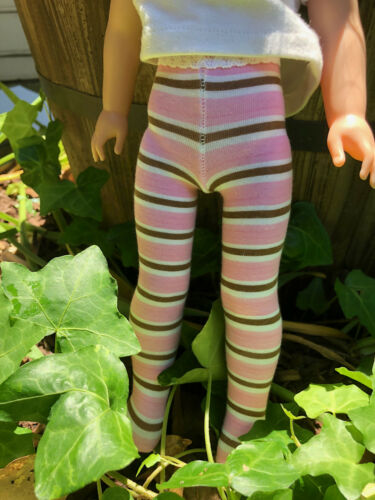 """Striped Tights for 14/"""" Wellie Wishers Doll choice of 8!"""