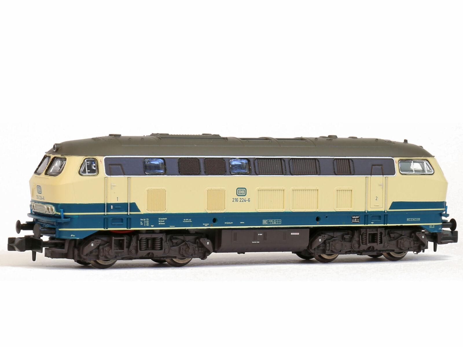 Brawa 61211 - DCC + SX + Sound Diesellok BR216 bl be DB Ep.IV - Spur N - NEU
