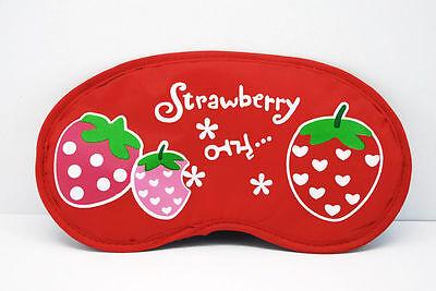 lovely  strawberry  Sleep Masks eye mask fashion  AB117