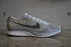 san francisco ccd87 90531 Image is loading Nike-Flyknit-Racer-034-Pure-Platinum-034-Pure-