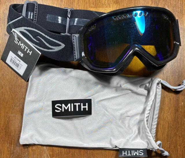 Smith Optics Project Adult Snow Goggles Black//Blue Sensor Mirror//One Size