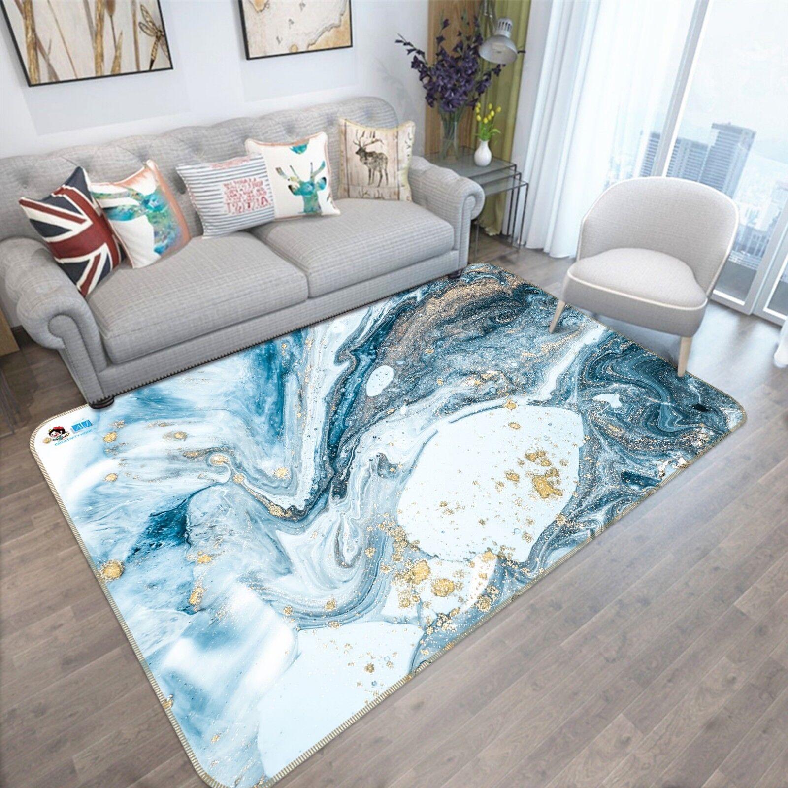 3D Water Swirl Painting 8 Non Slip Rug Mat Room Mat Quality Elegant Photo Carpet