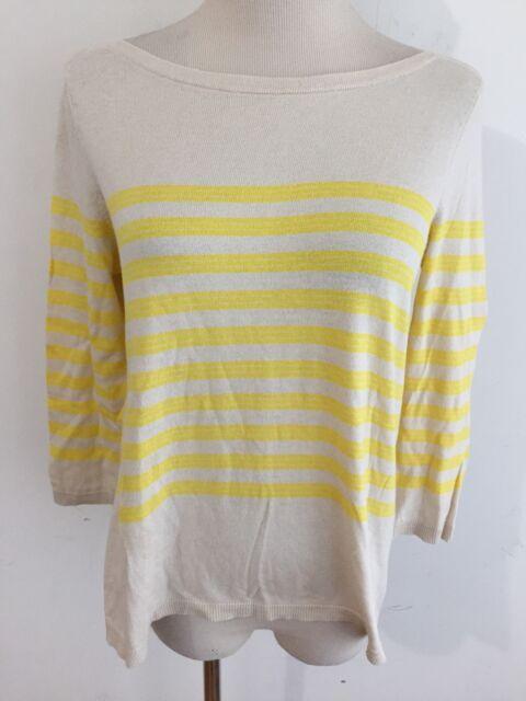 e3b95579fadb Ann Taylor LOFT Petites Bateau Neck Cotton Blend Sweater Knit Top ...