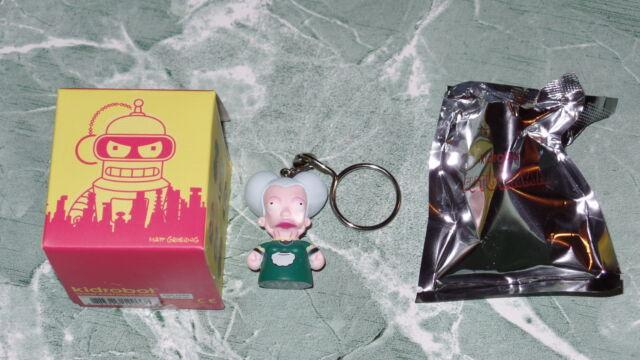 "Kidrobot Futurama Series 1 Morbo 1.5/"" Vinyl Figure Keychain Keychains Box"