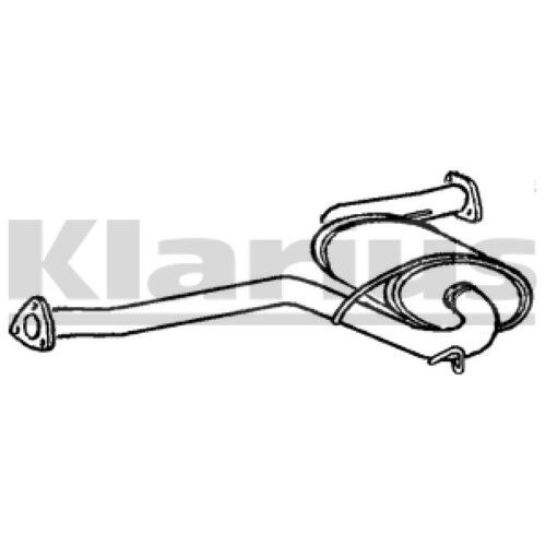 1x KLARIUS OE Quality Replacement Middle Silencer Exhaust For ALFA ROMEO Petrol