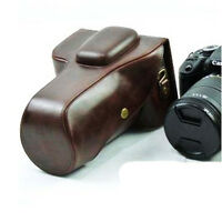New Leather camera case bag pouch for Canon EOS 5D MARK II III 5D2 5D3