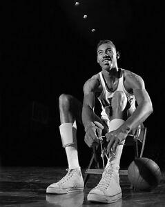 buy online 980da bf348 Details about 1956 Kansas Jayhawks WILT CHAMBERLAIN Glossy 11x14 Photo NCAA  Basketball Print