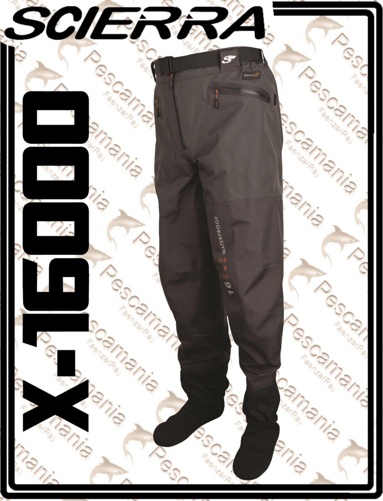 Wader Scierra X-16000 grigio een pantalone 3 strati trapirante