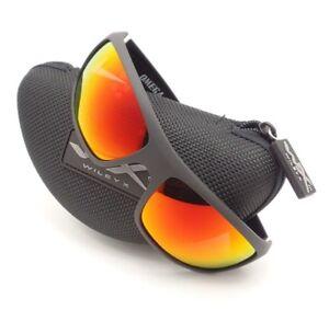 26249752276 Wiley X Omega Matte Black Crimson Polar Mirror Sunglasses Authentic ...