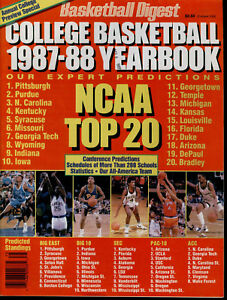 Basketball-Digest-College-Basketball-1987-88-Yearbook