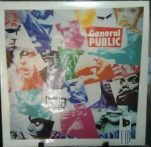 GENERAL PUBLIC Hand To Mouth Album Released 1986 Vinyl/Record Collection USA
