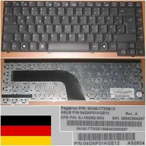 CLAVIER-QWERTZ-ALLEMAND-ASUS-Z94-X51-9J-N0D82-00G-04GNF01KGE12-0KN0-7T3GE13-Noir