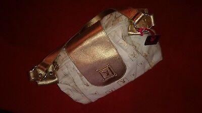 PAYBOY Handtasche mit Magnetverschluß, gold/beige, Neu