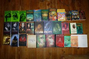 Buchpaket-31x-FANTASY-Tolkien-Brennan-Rowling-Goodman-Cast-Collins-Paolini