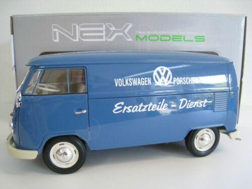 Volkswagen T1 Bus Transporter  Porsche Ersatzteile-Dienst  Welly  1:18  NEU  OVP