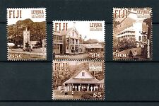 Fiji 2016 MNH Levuka UNESCO World Heritage Site 4v Set Churches Buildings Stamps