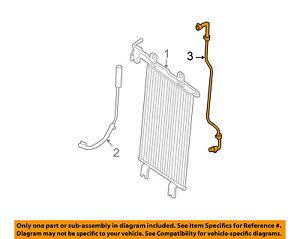 Oil Cooler Hose Genuine Nissan 21633-ZQ00A