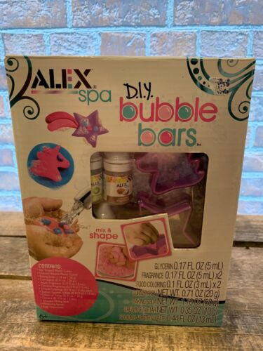 ALEX SPA Bubble Bars D.I.Y Kit NEW Sealed